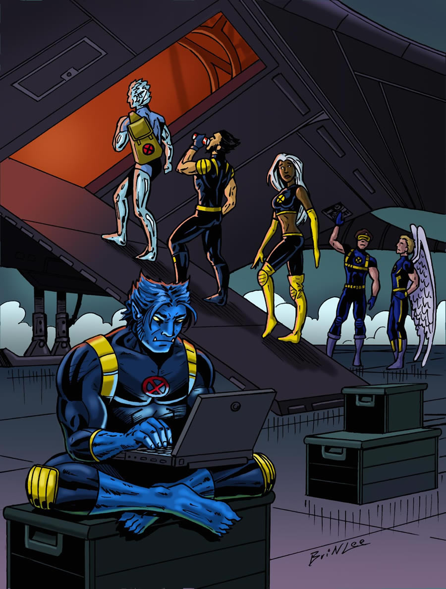 X-men Supreme Issue 19: Uprising Part 2 Panel 1