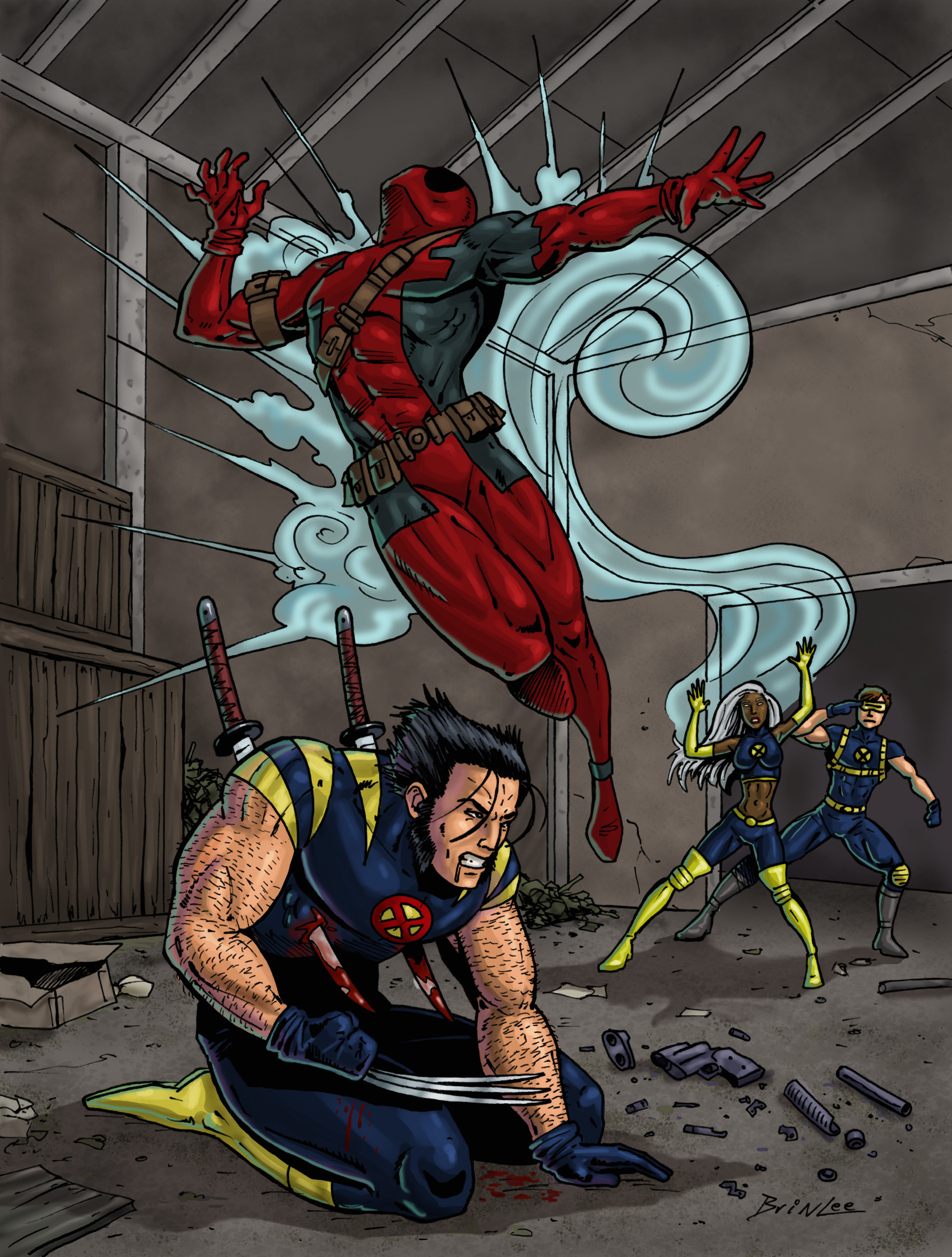 X-men Supreme Issue 37: Deadpool Part 2 Panel 1