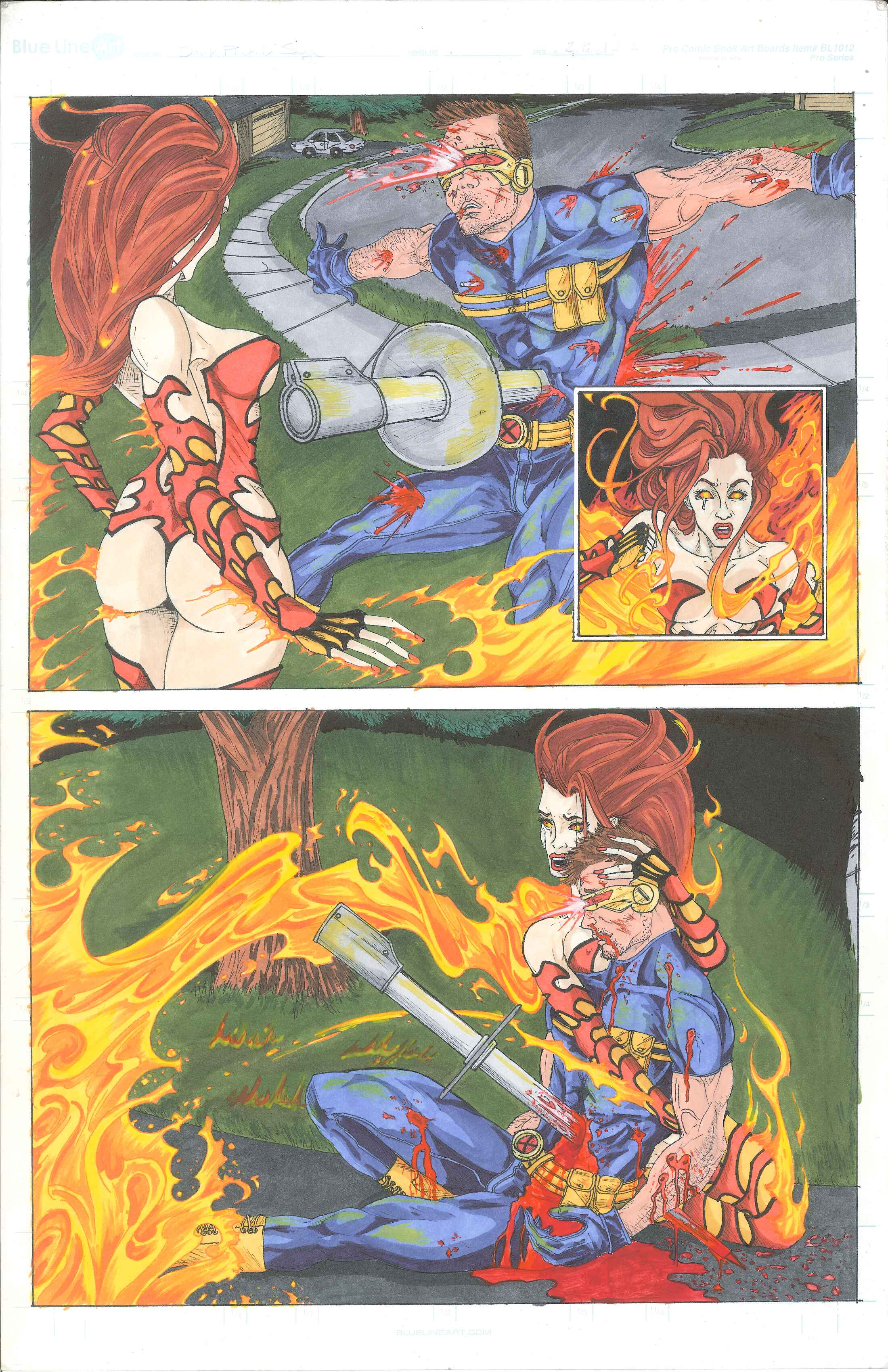 X-men Supreme Issue 68: The Phoenix Saga Part 1 Panel 2
