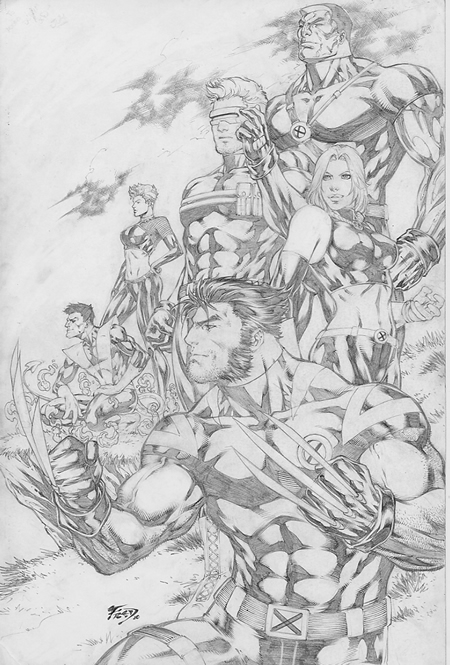 X-men Team Pic 35