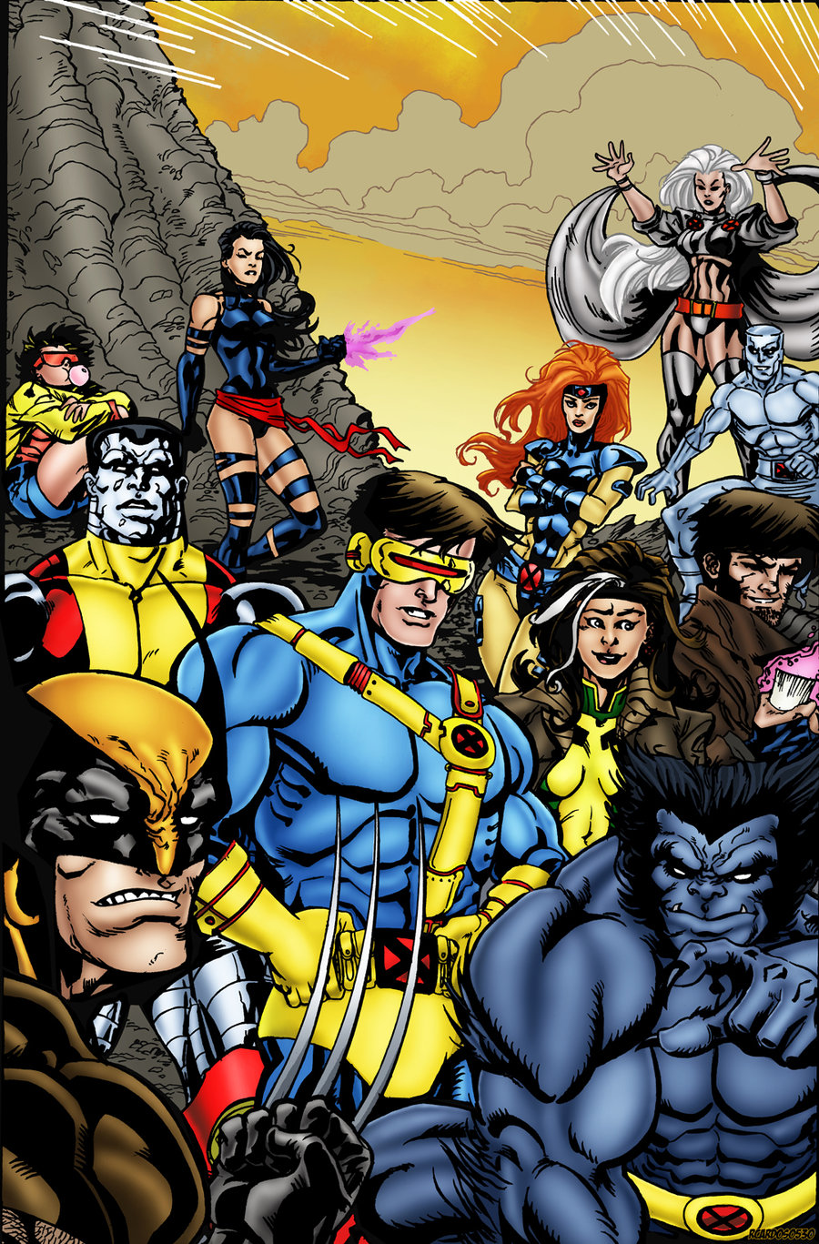 X-men Team Pic 39