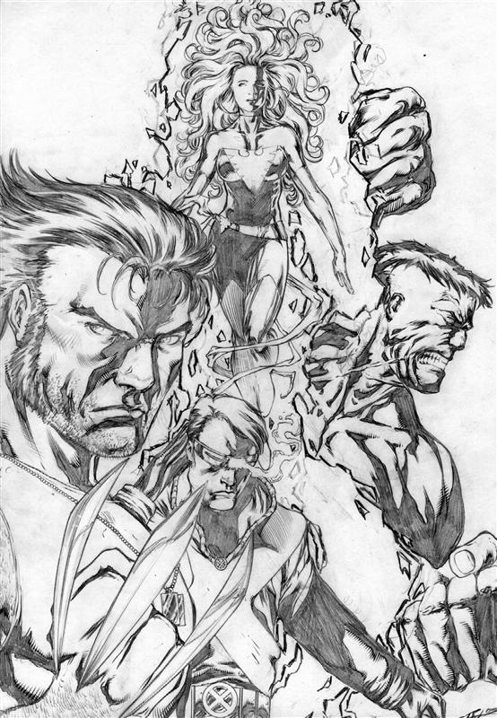X-men Team Pic 40
