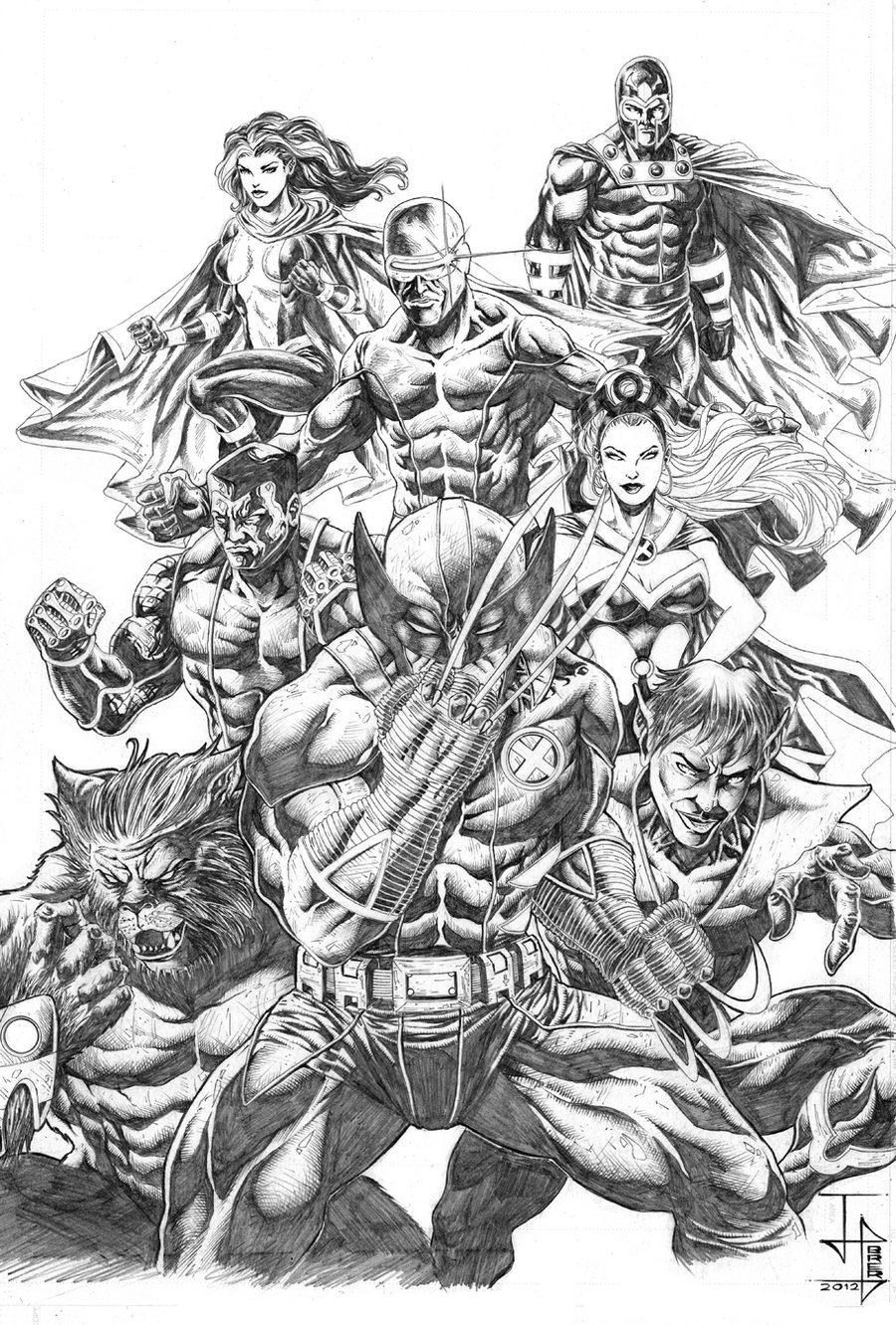 X-men Team Pic 42