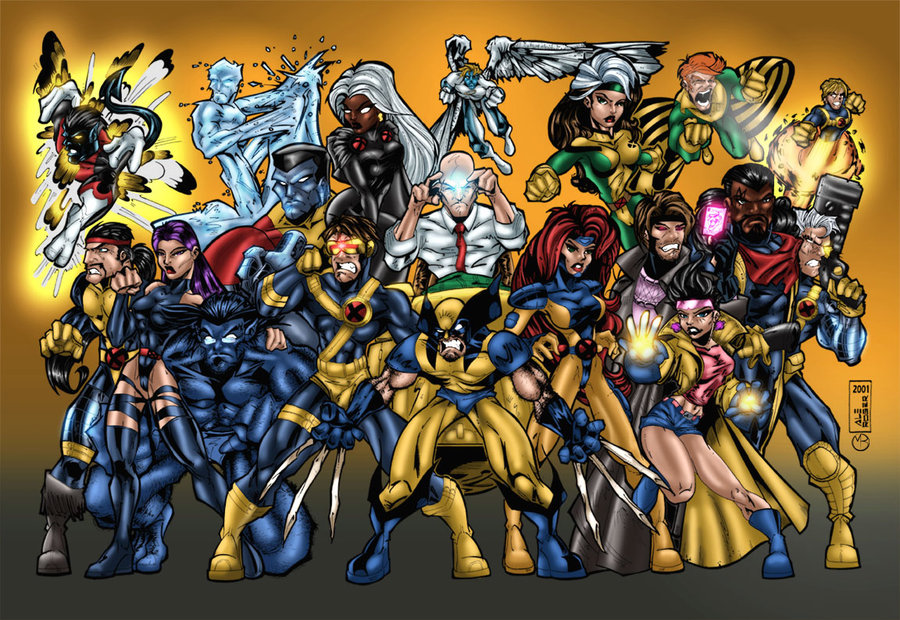 X-men Team Pic 43