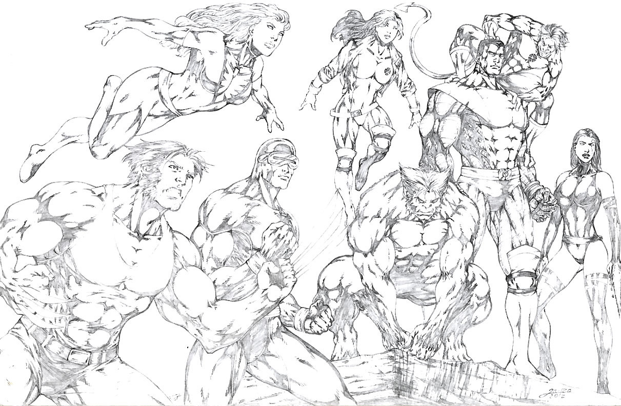X-men Team Pic 44