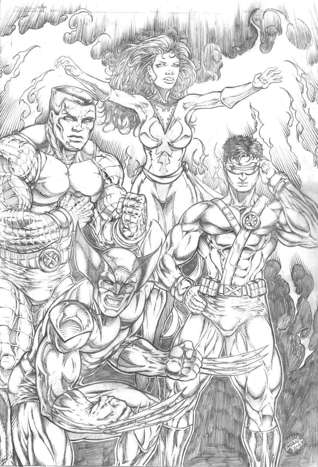X-men Team Pic 48