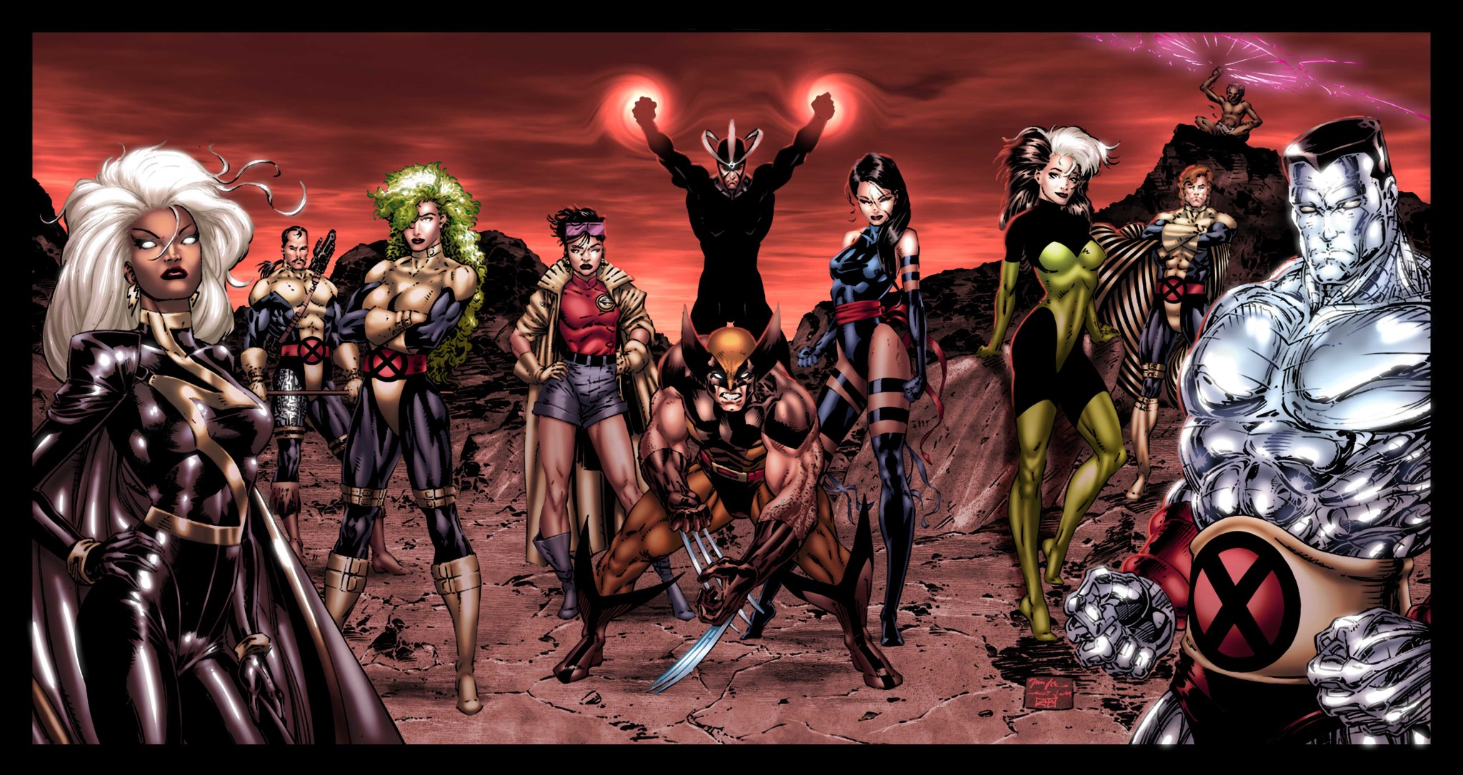 X-men Team Pic 49