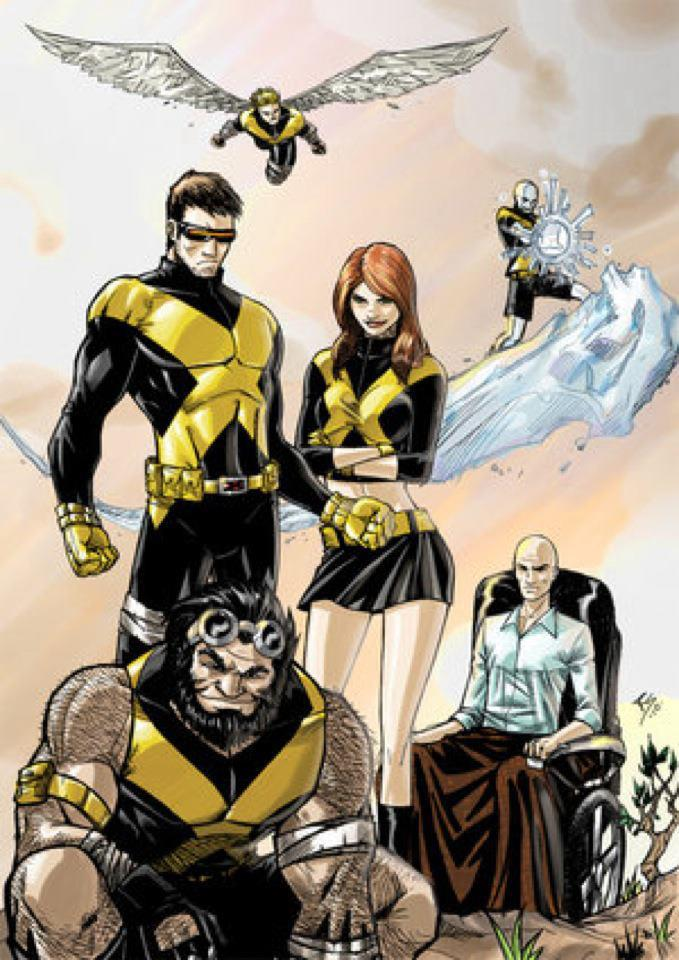 X-men Team Pic 50