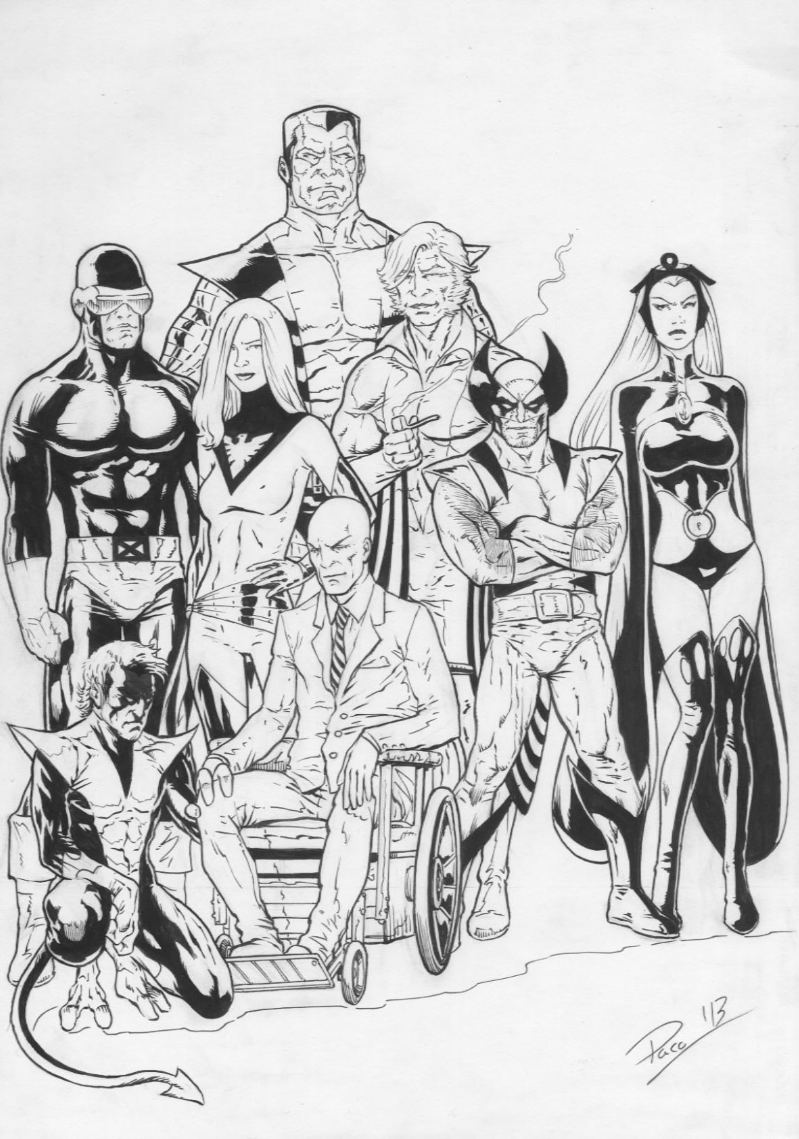 X-men Team Pic 52