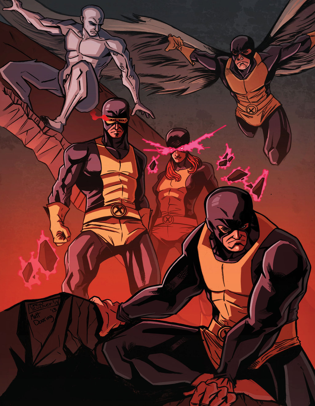 X-men Team Pic 54